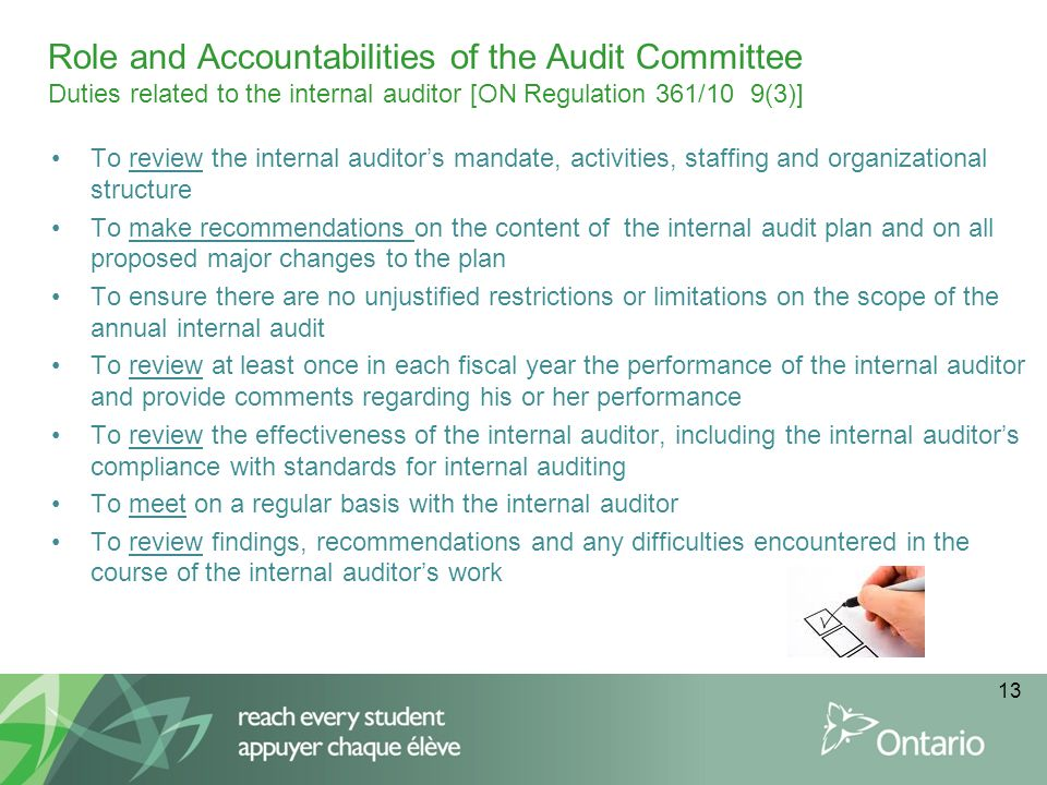 role of internal auditor in corporate Role of internal audit in corporate governance and management it identifies the accountability structures and objecti ves of internal audit, considers the nature of.
